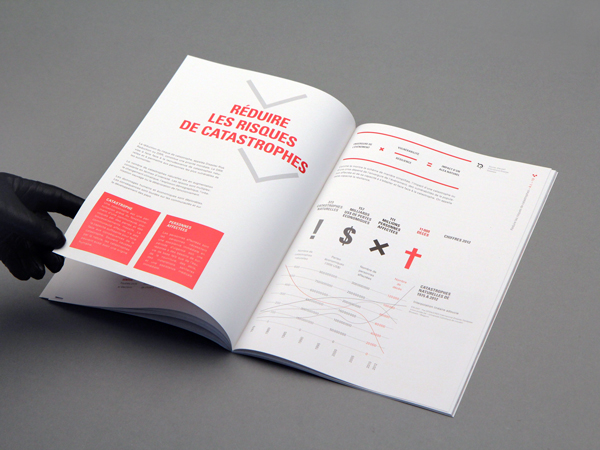 Croix Rouge – Annual Report spreads 03